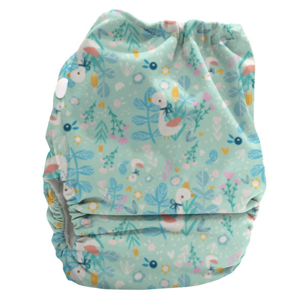 Bubblebubs BoPeep AI2 Newborn Complete Cloth Nappy - PUL - Limited Edition