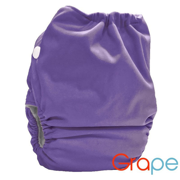 Bubblebubs Candie AI2 One Size Complete Cloth Nappy - PUL - Grape