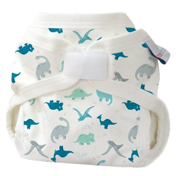 Bubblebubs PUL Gusseted Nappy Cover - Dino