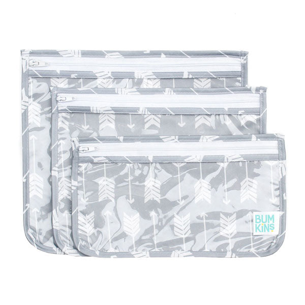 Bumkins Clear Travel Bags - Arrows