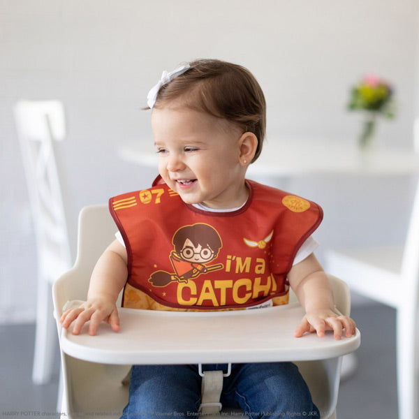 Bumkins SuperBib 3pk - Harry Potter Quidditch