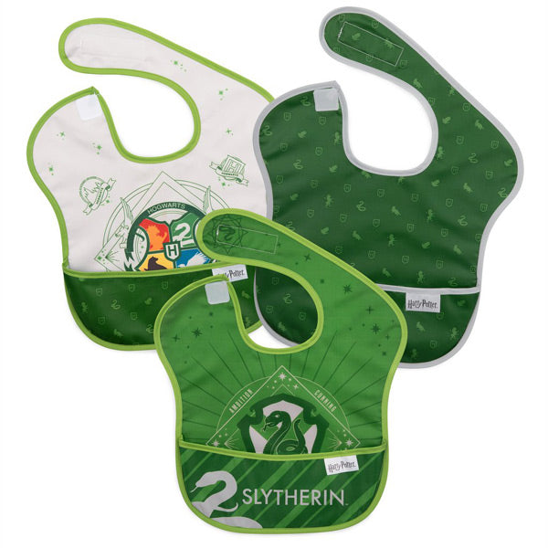 Bumkins SuperBib 3pk - Harry Potter Slytherin