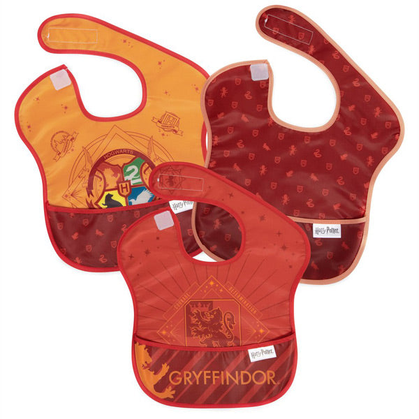 Bumkins SuperBib 3pk - Harry Potter Gryffindor