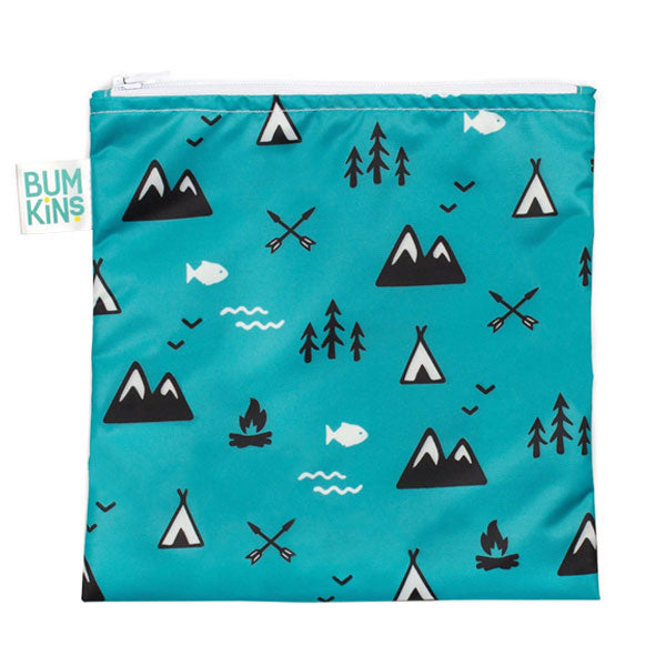 Bumkins Large Snack Bag - Outdoors