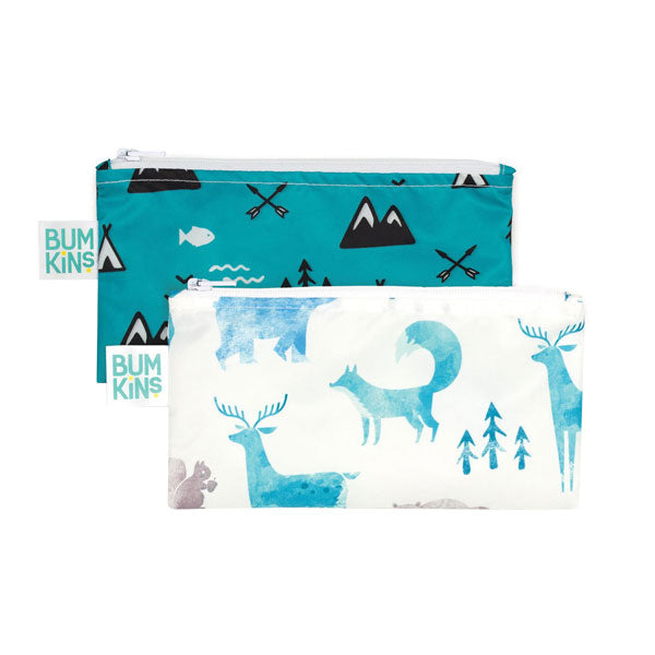 Bumkins Small Snack Bags - Outdoors/Nature