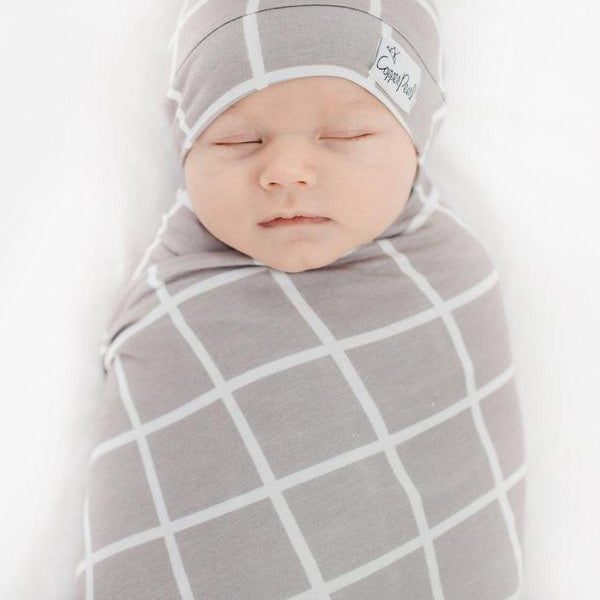 Copper Pearl Knit Swaddle Blanket - Midway