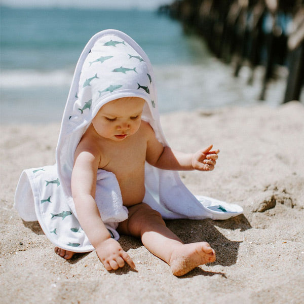 Copper Pearl Premium Hooded Towel - Pacific