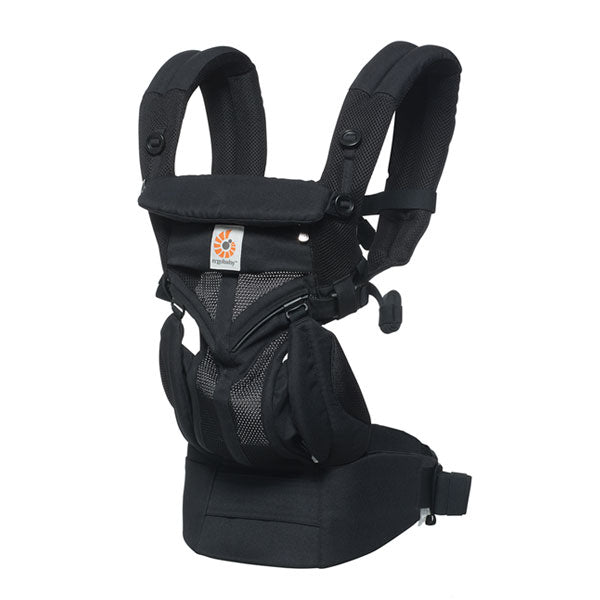 Ergobaby All Position Omni 360 Carrier - Cool Air Mesh - Onyx Black