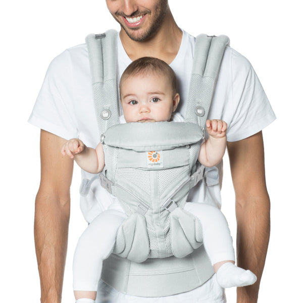 Ergobaby All Position Omni 360 Carrier - Cool Air Mesh - Pearl Grey