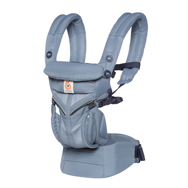 Ergobaby All Position Omni 360 Carrier - Cool Air Mesh - Oxford Blue