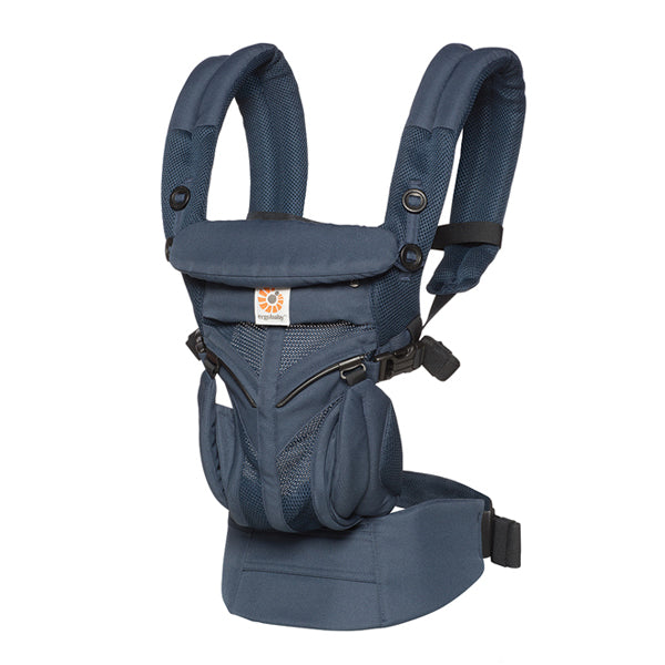 Ergobaby All Position Omni 360 Carrier - Cool Air Mesh - Midnight Blue