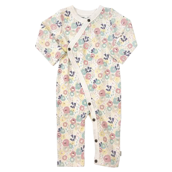 Finn and Emma Organic Cotton Coverall - Wildflowers