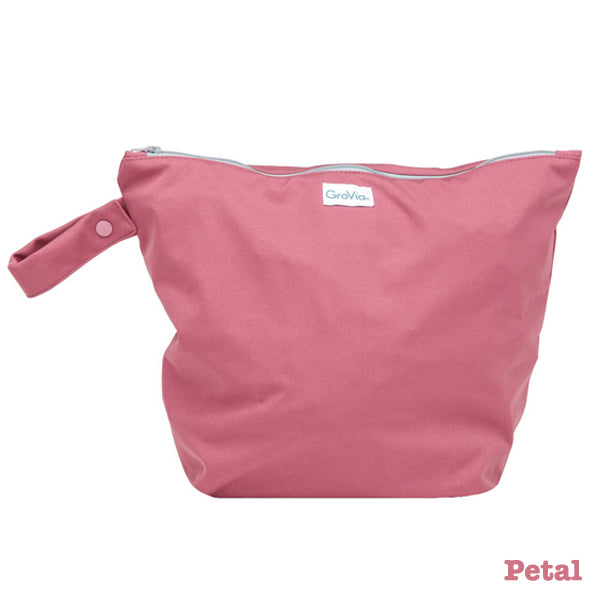 Grovia Zipped Wet Bag - Petal