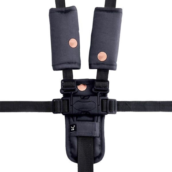 Outlook Get Foiled Harness Strap Cover Set - Charcoal with Rose Gold Spots