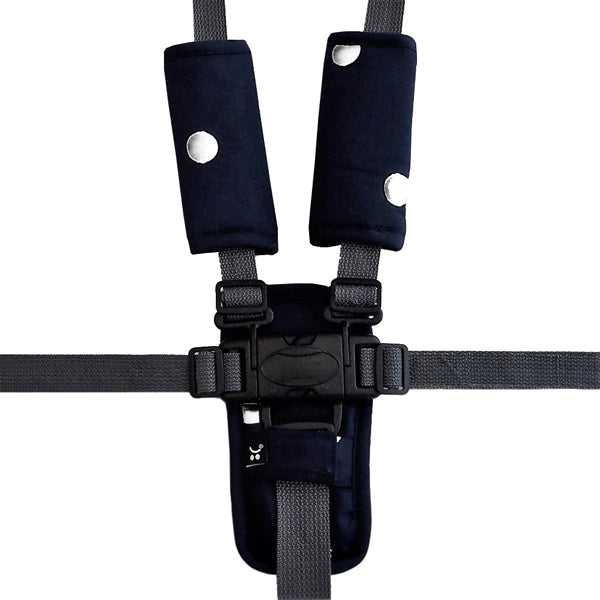 Outlook Get Foiled Harness Strap Cover Set - Black with Silver Spots