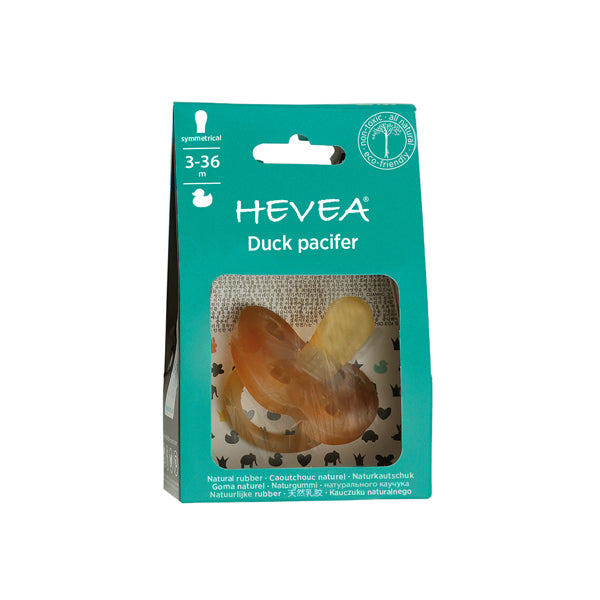 Hevea Natural Rubber Pacifier - Symmetrical Teat