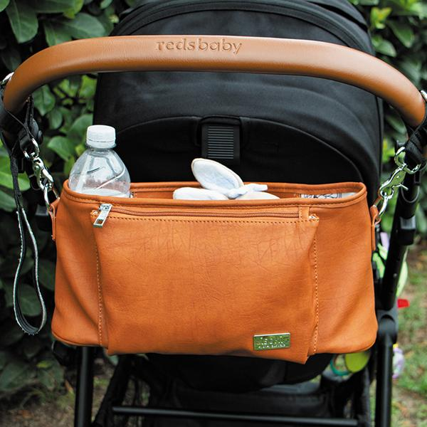 Isoki Tully Stroller Caddy - Amber