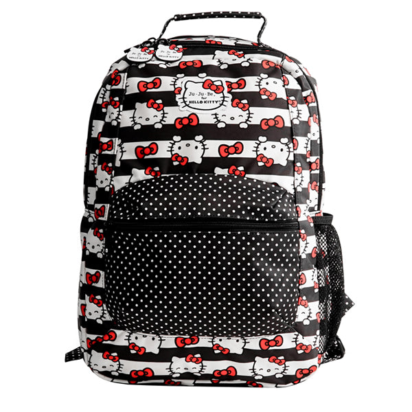 Ju-Ju-Be Be Packed Backpack - Hello Kitty Dots and Stripes