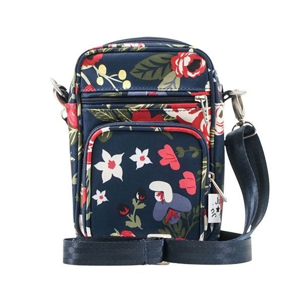 Ju-Ju-Be Mini Helix Messenger Bag - Midnight Posy