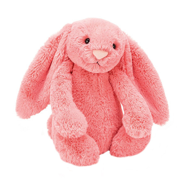 Jellycat Bashful Bunny Medium - Coral