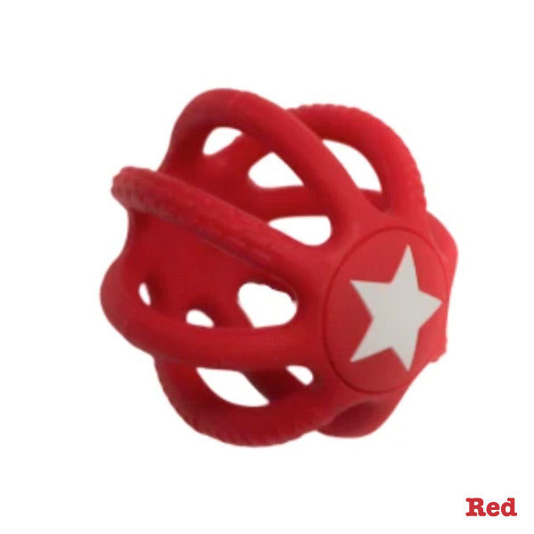 Jellystone Designs Fidget Ball - Red