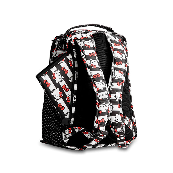 Ju-Ju-Be Be Right Back Backpack - Hello Kitty Dots and Stripes