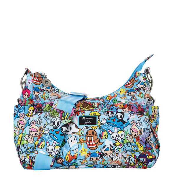 Ju-Ju-Be HoboBe Medium Hobo Purse - Tokidoki - Sea Amo 2.0