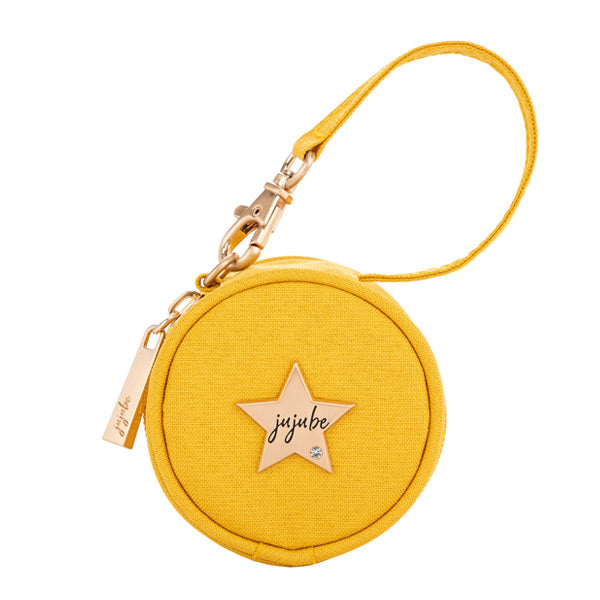 Ju-Ju-Be Paci Pod Small Pacifier Pouch - Golden Amber