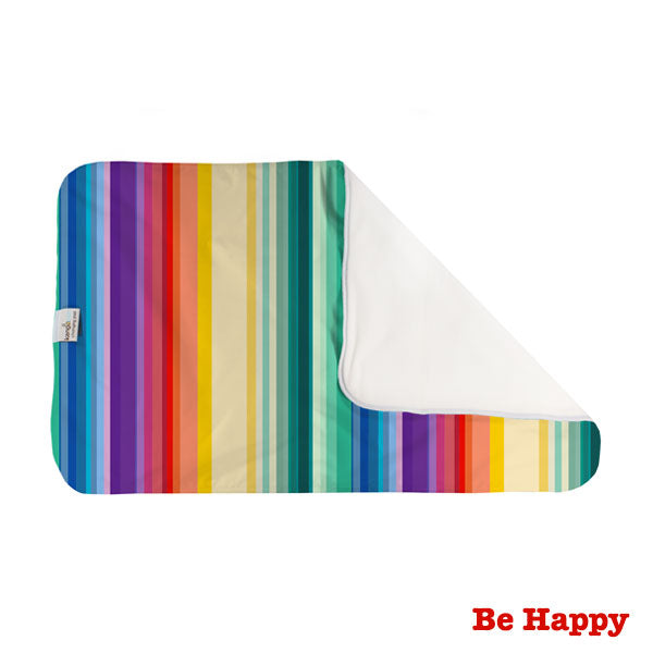 Kanga Care Print Changing Pad and Sheet Saver - Be Happy