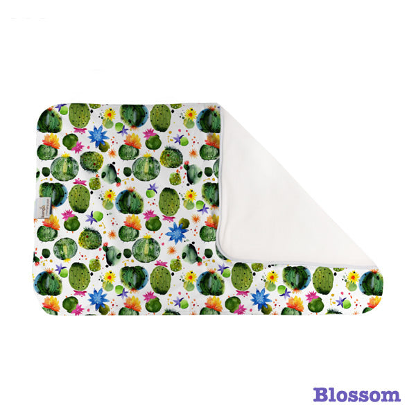 Kanga Care Print Changing Pad and Sheet Saver - Blossom