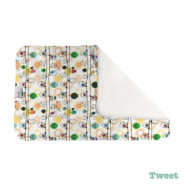Kanga Care Print Changing Pad and Sheet Saver - Tweet