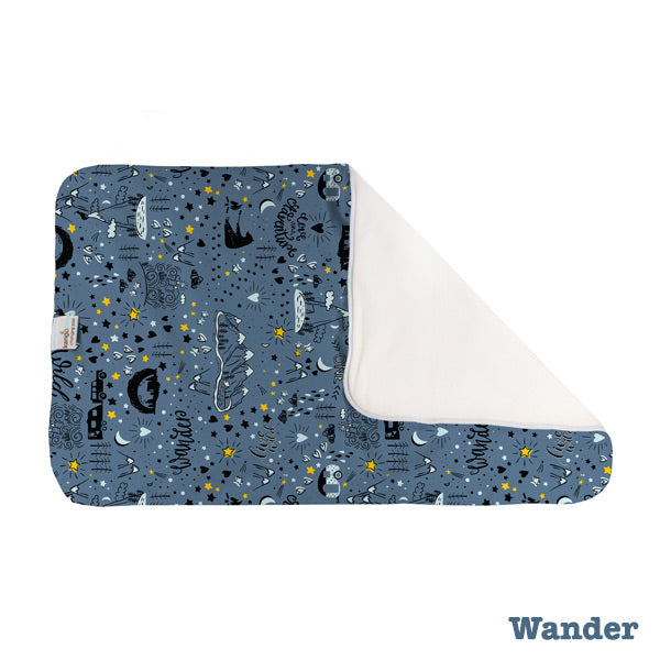 Kanga Care Print Changing Pad and Sheet Saver - Wander