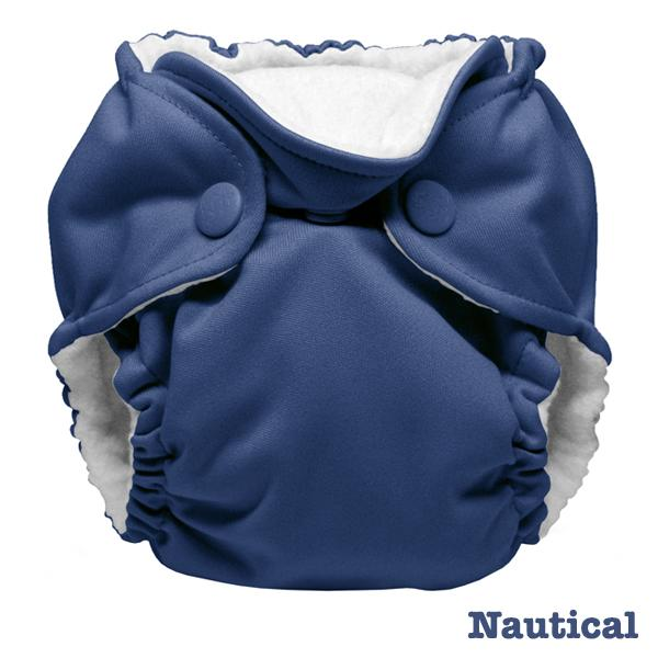 Kanga Care Colour Lil Joey AIO Cloth Nappies - Nautical