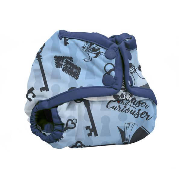 Kanga Care Wonderland Rumparooz Newborn Cloth Nappy Cover - Alice