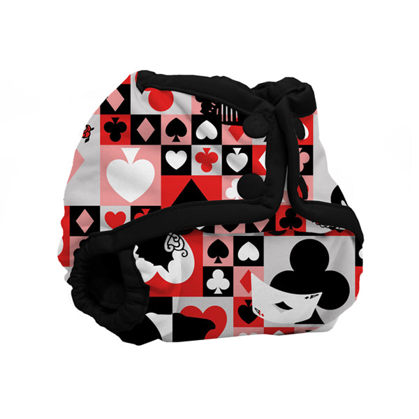 Kanga Care Wonderland Rumparooz Newborn Cloth Nappy Cover - Queen of Hearts