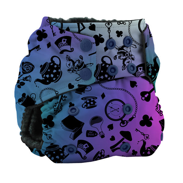 Kanga Care Wonderland Rumparooz OBV Cloth Nappy - Muchness