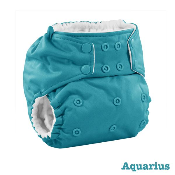 Kanga Care Colour Rumparooz Cloth Nappy - Aquarius