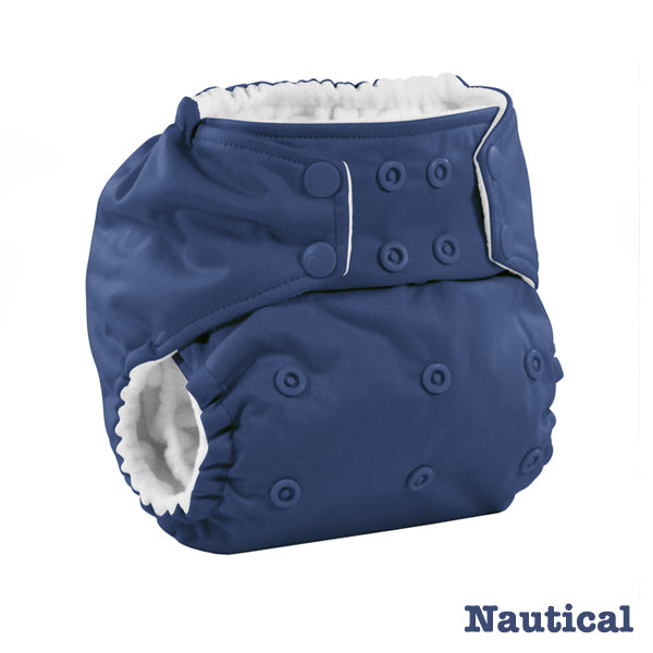 Kanga Care Colour Rumparooz Cloth Nappy - Nautical