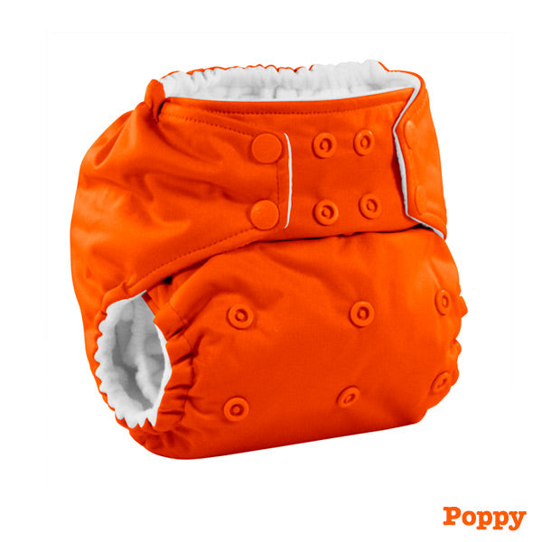 Kanga Care Colour Rumparooz Cloth Nappy - Poppy