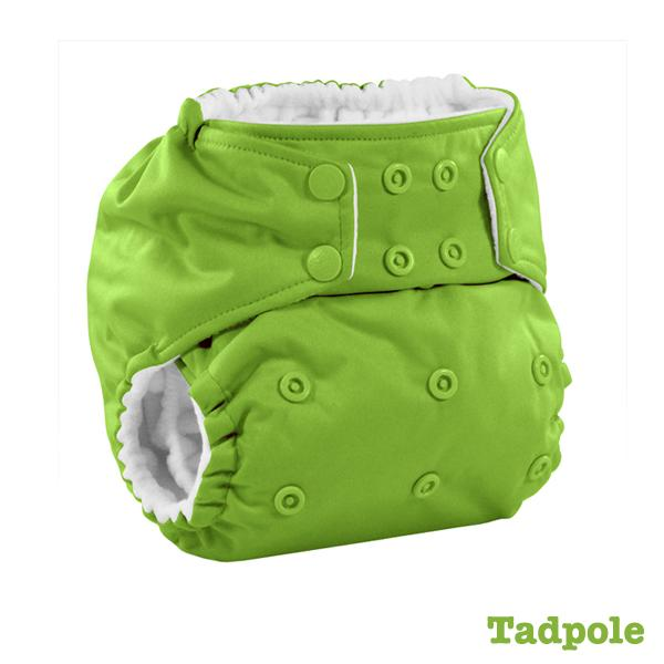 Kanga Care Colour Rumparooz Cloth Nappy - Tadpole