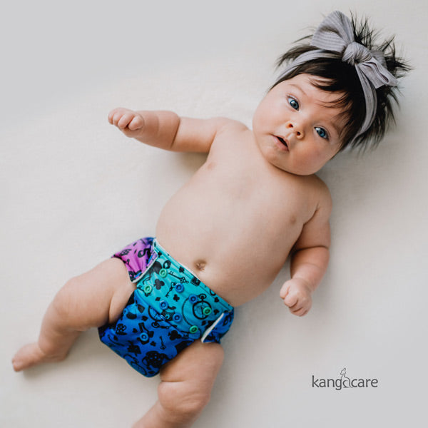 Kanga Care Wonderland Rumparooz Cloth Nappy - Muchness