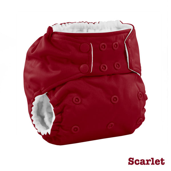 Kanga Care Colour Rumparooz Cloth Nappy - Scarlet