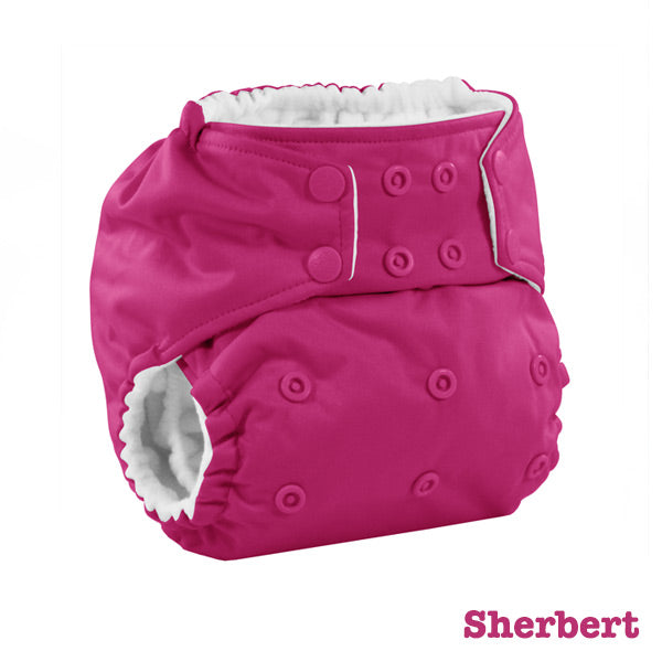 Kanga Care Colour Rumparooz Cloth Nappy - Sherbert