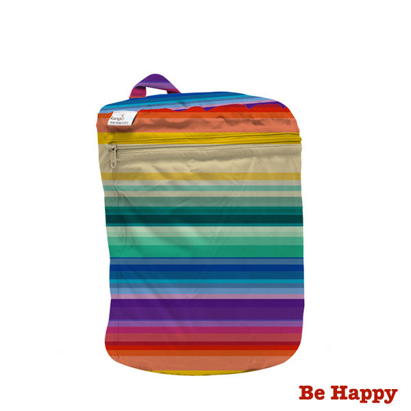 Kanga Care Print Wet Bag Mini - Be Happy