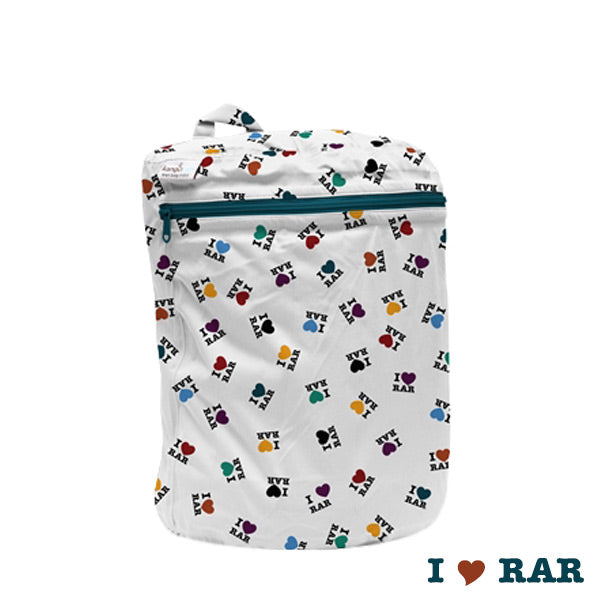 Kanga Care Print Wet Bag Mini - I Love RAR