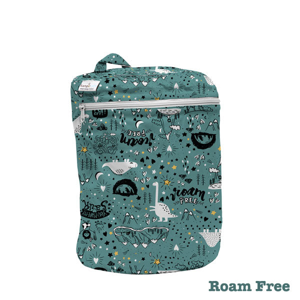 Kanga Care Print Wet Bag Mini - Roam Free