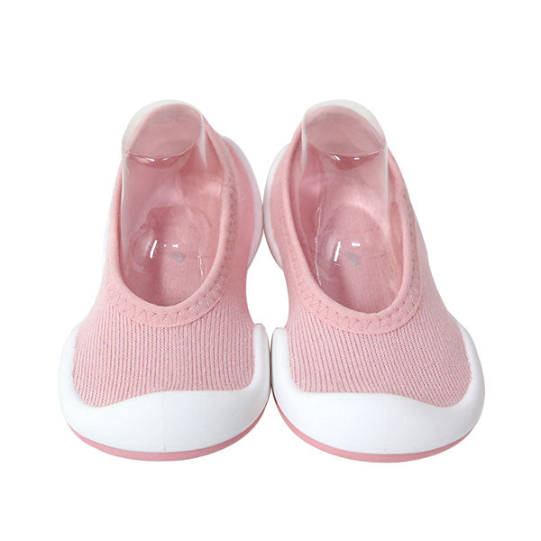 Komuello First Walker Shoes - Flat Mono Colour Pink