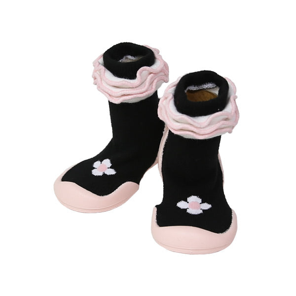 Ggomoosin First Walker Shoes - Flower Point