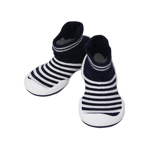 Komuello First Walker Shoes - Marine Boy