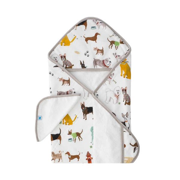 Little Unicorn Hooded Towel and Washcloth - Woof